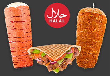 Lamb and Chicken Doner